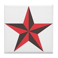 Nautical Star Tile Coaster