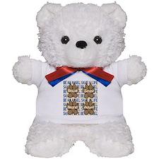 Be An Angel Save A L:ife Teddy Bear