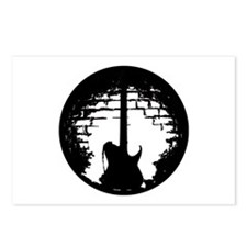 Guitar Silhouette Postcards (Package of 8)