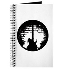 Guitar Silhouette Journal