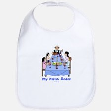 First Seder Jewish Kids Bib