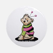 Love Bug Cairn Ornament (Round)