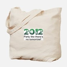 2012 Party Tote Bag