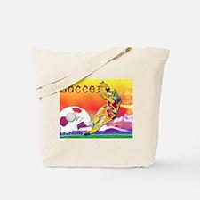 Tote Bag and Soccer Art