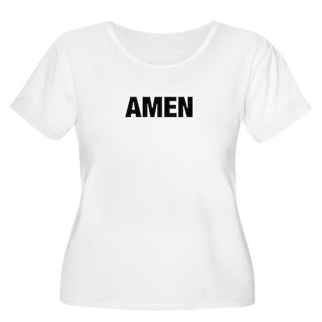 Amen Women's Plus Size Scoop Neck T-Shirt