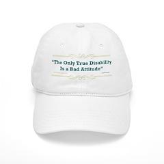 Disability Attitude - Baseball Cap