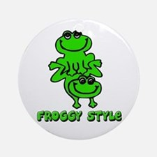 Froggy style Ornament (Round)