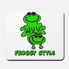 Froggy style Mousepad