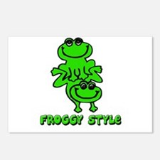 Froggy style Postcards (Package of 8)