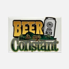 Beer Is My Constant Refrigerator Magnet