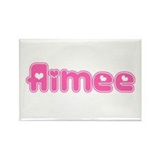 """Aimee"" Rectangle Magnet"
