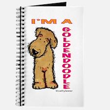 I'm a Goldendoodle Journal