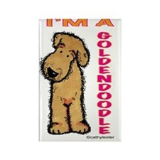 I'm a Goldendoodle Rectangle Magnet