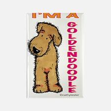 I'm a Goldendoodle Rectangle Magnet