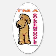 I'm a Goldendoodle Decal