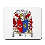 Barth Coat of Arms Mousepad