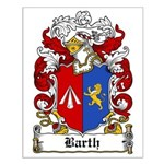 Barth Coat of Arms Small Poster
