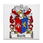 Barth Coat of Arms Tile Coaster