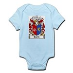 Barth Coat of Arms Infant Creeper
