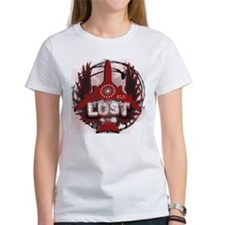 Lost TV Wings and Plane Tee