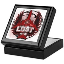 Lost TV Wings and Plane Keepsake Box