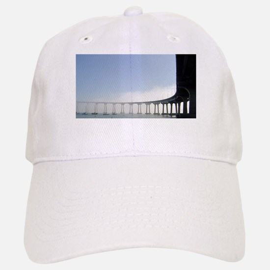 Coronado Bridge Baseball Baseball Cap