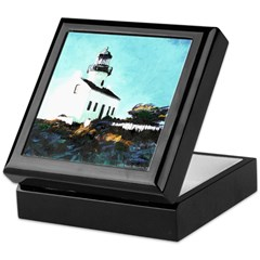 Light House Keepsake Box