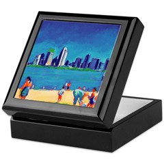San Diego Beach Keepsake Box