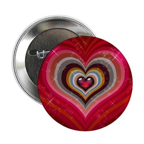"Heart of Hearts 2.25"" Button"