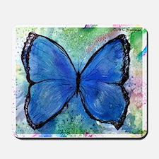 Blue Butterfly, Mousepad