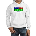 Street Talk Love Hooded Sweatshirt