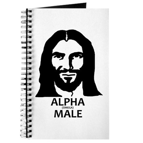 Jesus Alpha (Omega) Male Journal