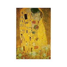 Gustav Klimt 'the Kiss' Rectangle Magnet Magnets
