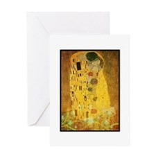Gustav Klimt 'the Kiss' Card Greeting Cards
