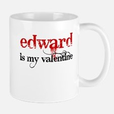 Edward is my valentine Mug