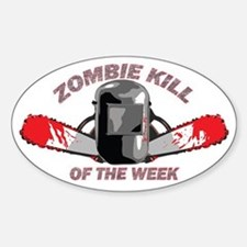 Zombie Kill Of The Week Decal