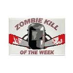 Zombie Kill Of The Week Rectangle Magnet