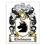 Edelmann Coat of Arms Small Poster