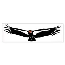 Condor Bumper Sticker for Lisa