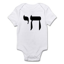 Hebrew Chai Infant Bodysuit