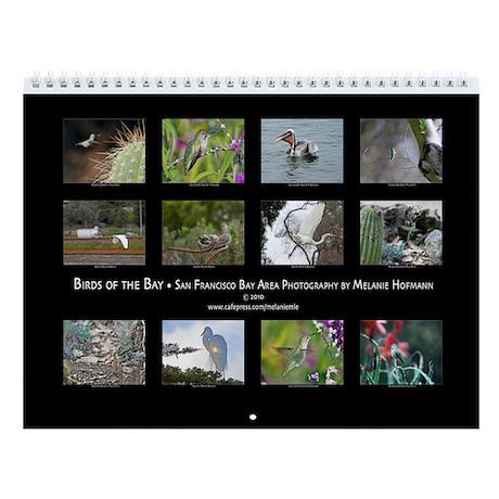 Birds of the Bay Wall Calendar