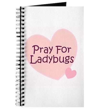 Pray For Ladybugs Journal