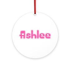 """Ashlee"" Ornament (Round)"