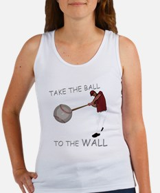 Take the Ball to the Wall Women's Tank Top