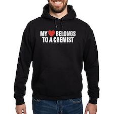 My Heart Belongs To A Chemist Hoodie