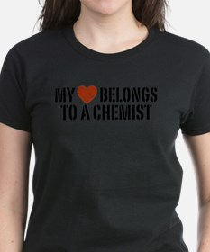 My Heart Belongs To A Chemist Tee