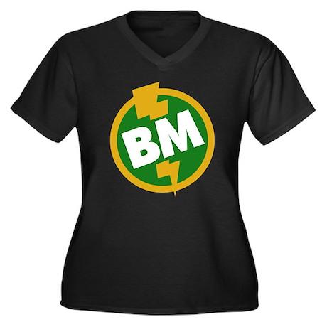 Best Man - BM Dupree Women's Plus Size V-Neck Dark