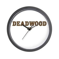 Deadwood Wall Clock