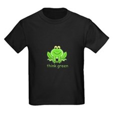Think Green Frog T