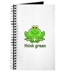 Think Green Frog Journal